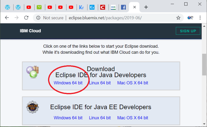 ibm eclipse